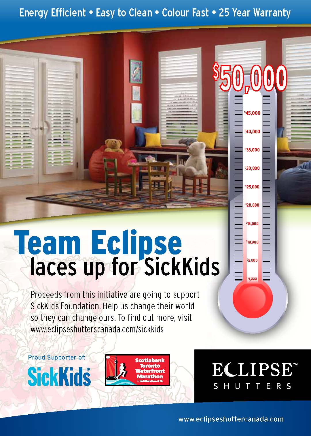 Eclipse Marathon For Sickkidseclipse Shutters Canada Will Be Fundraising For The Sick Kids