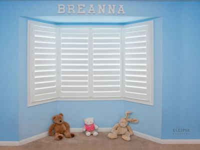 Shutters for Bow Windows
