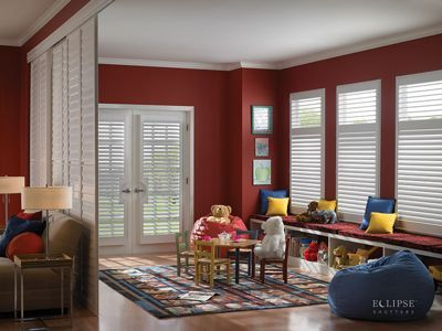 Shutters as Room Dividers