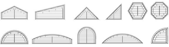 Arch Shapes Available